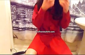 All dressed in red and ready to cum 720p