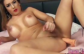 Dream Tranny - Solo Tgirls Enjoying Perfect Orgasms Compilation Part 1