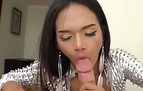 Futuristic anal barebacking with a hot Thai ladyboy
