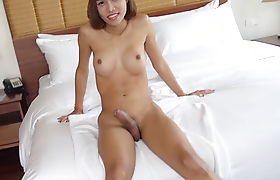 Big cock shemale enjoyed passion anal sex with a friend