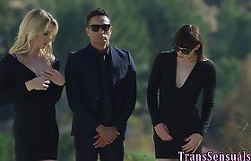 Transgender babe raw fuck