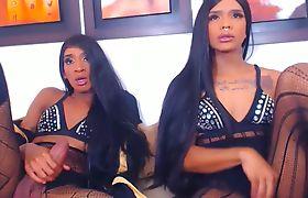 Beautiful Shemale Twins