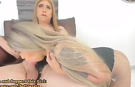 Two Sexy Shemales Playing