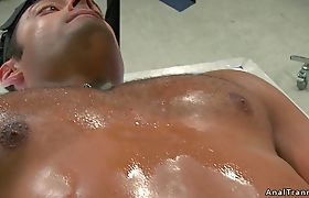 Busty tranny has threesome with two men