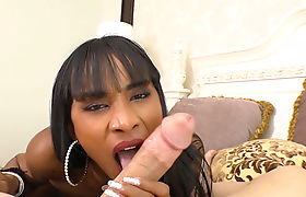 Big cock tranny fucked in an asshole by a white guy