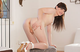 Pale Shemale Natalie Mars enjoys fucking stud Michaels cock